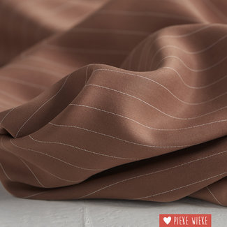 meetMilk Tencel pinstripe Peanut