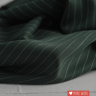 meetMilk Tencel pinstripe Deep green