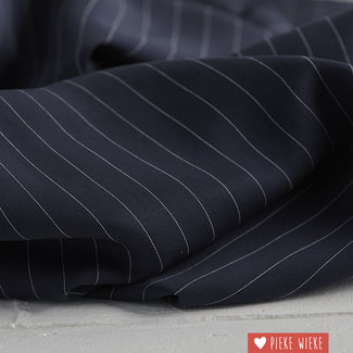 meetMilk Tencel pinstripe Navy