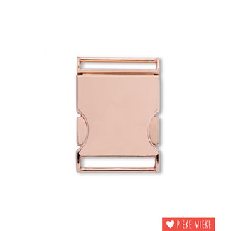 Prym Belt buckle 30mm Pink gold