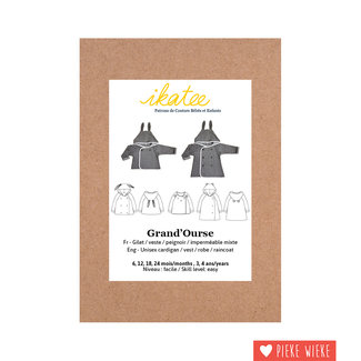 Ikatee Patroon Grand'Ourse Cardigan