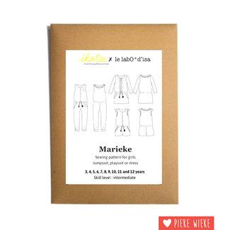 Ikatee Patroon Marieke Jurk / Jumpsuit