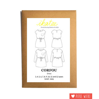 Ikatee Pattern Corfou Dress