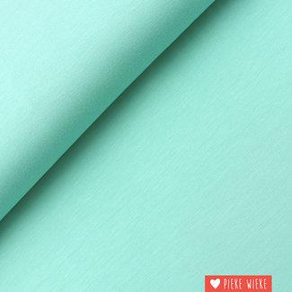 Bamboe tricot uni Mint groen
