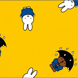 Cotton coated Miffy yellow