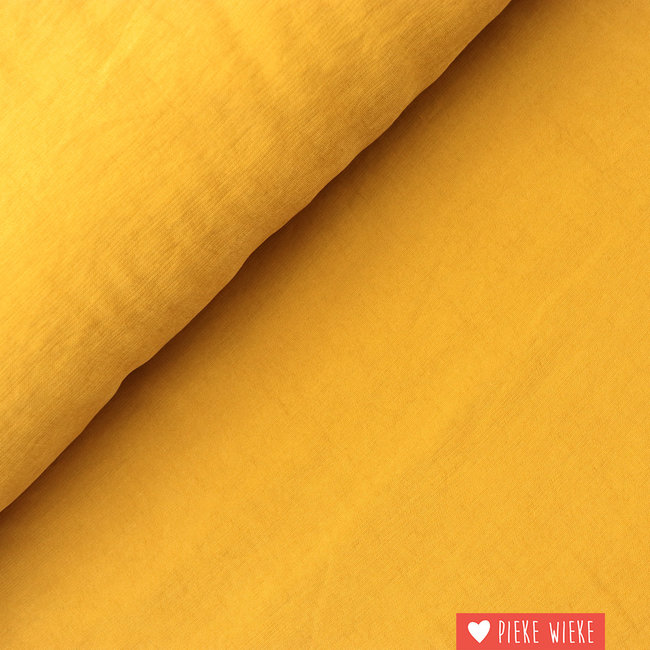 Viscose Soft touch Ochre