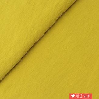 Viscose Soft touch mosterdgeel