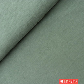 Viscose Soft touch legergroen
