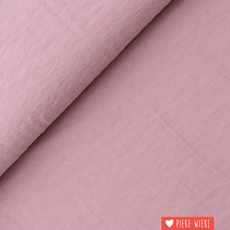 Viscose Soft touch Oud roze