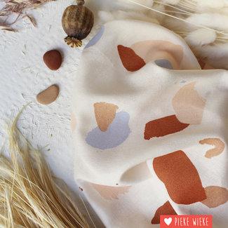 Atelier Brunette Viscose Granito Ecru