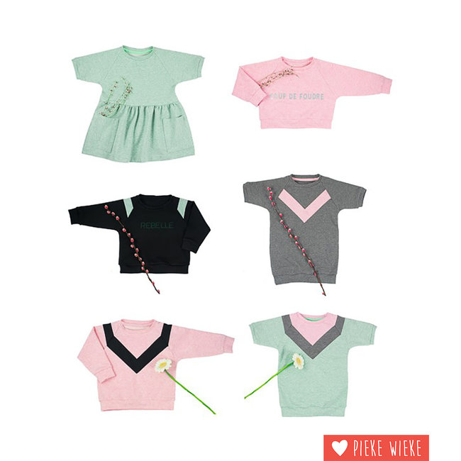 Bel'Etoile Patroon Isa jurk, sweater & top