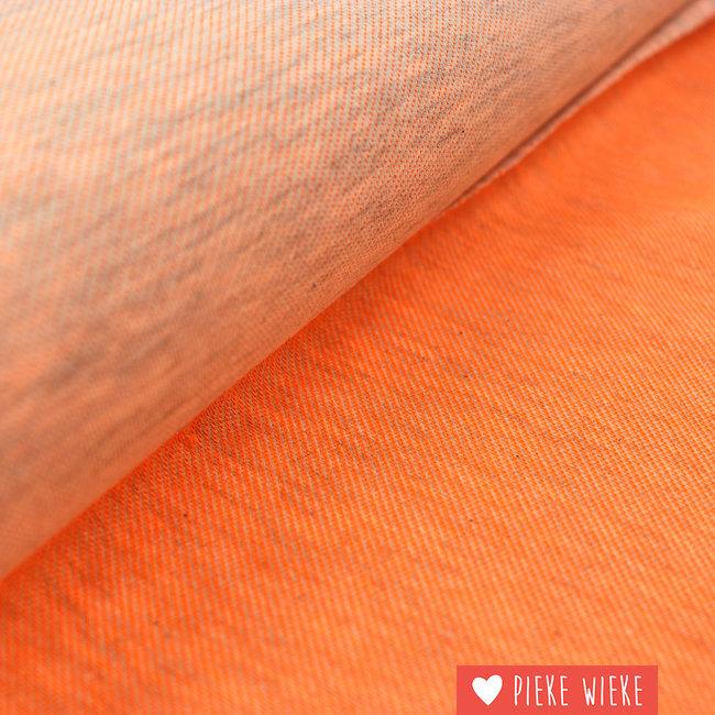 Jersey melange Fluo orange
