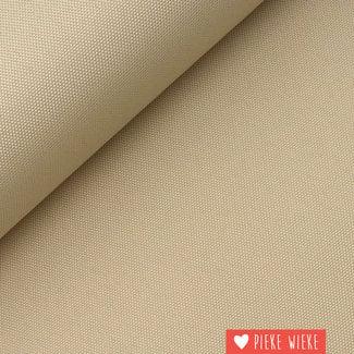 Fine polyester canvas Beige