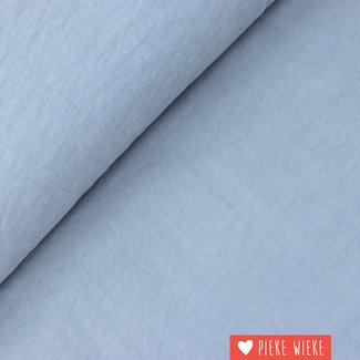 Viscose Soft touch Grijsblauw