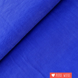 Viscose Soft touch Kobalt blauw