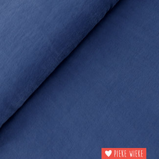Viscose Soft touch Donkerblauw