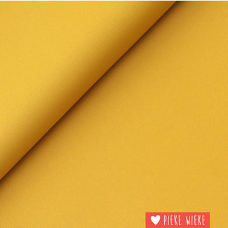 Fine polyester canvas  Ochre