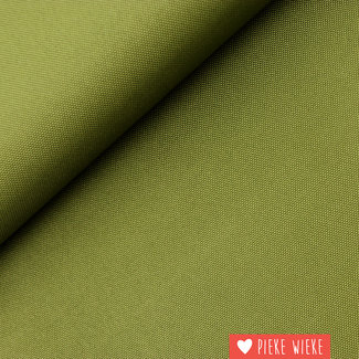 Fijne polyester canvas Kaki