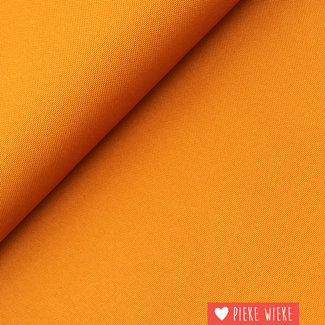 Fijne polyester canvas Licht cognac