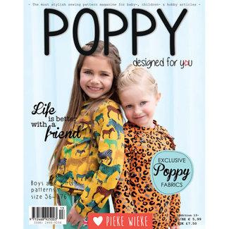 Poppy Poppy editie 13, naaimagazine
