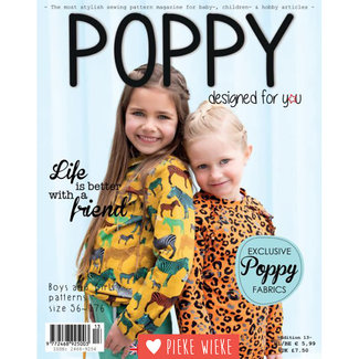 Poppy Poppy edition 13, sewing magazine