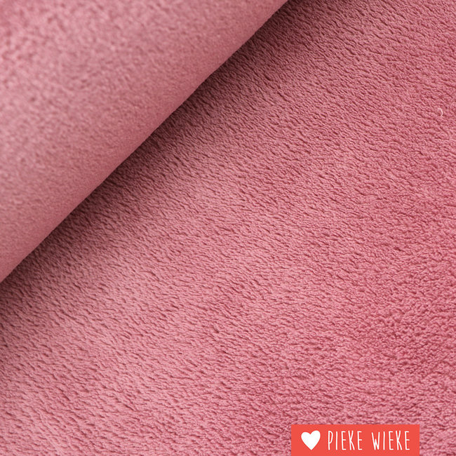 Teddy Fleece Sorbet pink