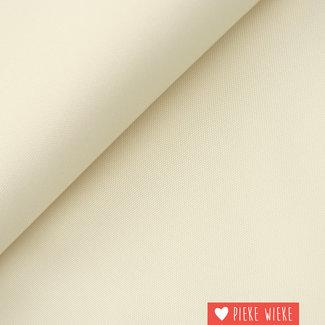 Fine polyester canvas Ecru