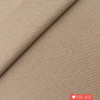 Canvas diagonally woven Sand