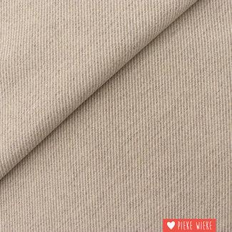 Canvas diagonally woven Light beige