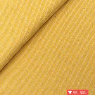 Canvas diagonally woven Yellow