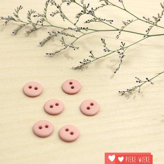 Knoop Basic mat 12mm Poeder roze