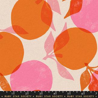 Ruby Star Society Canvas cotton linen Season Orange