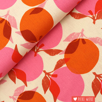 Ruby Star Society Canvas cotton linen Season Orange