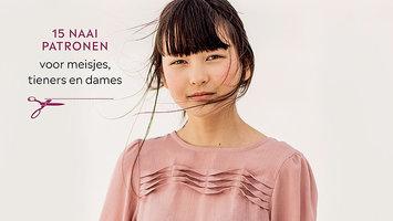 ❤ Garderobe, naaiboek met patronen voor dames, tieners en meisjes