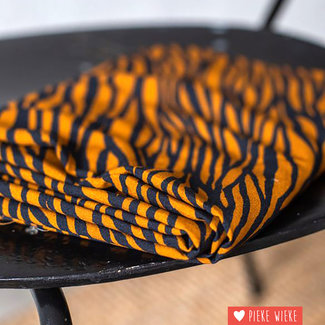 Mind the Maker Viscose Zebra Ochre