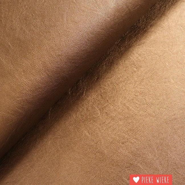 Imitation leather bronze