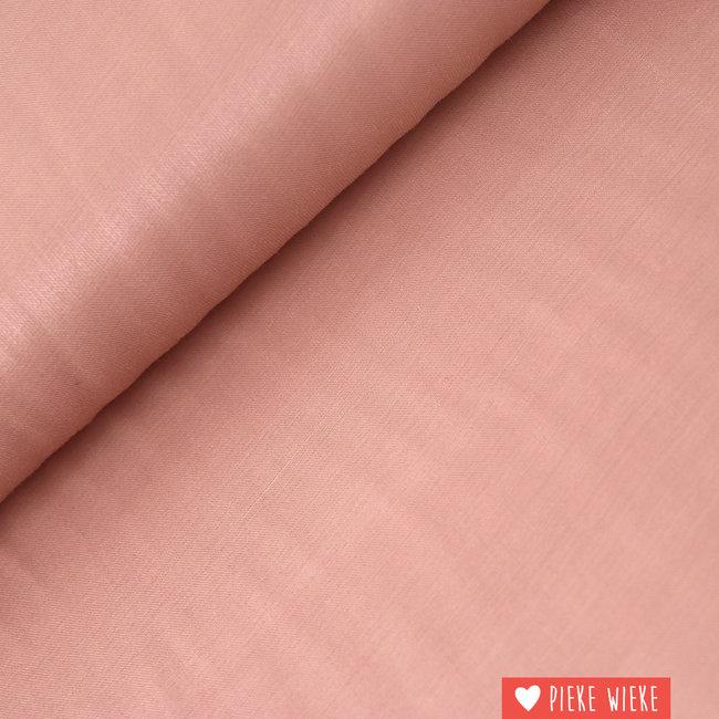 Viscose blend shine Pink