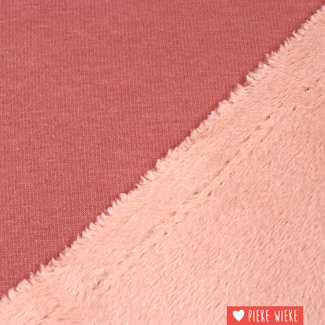 Teddy sweat pink