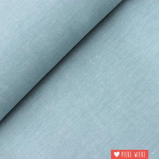 Cotton chambray Storm blue
