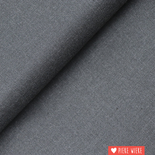 Bamboo twill Anthracite