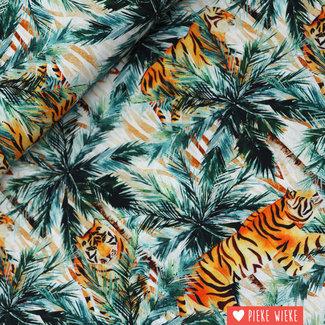 Poppy Cotton Hunting tigres