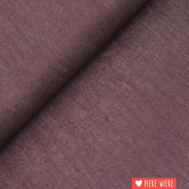 Jeans stretch Wine red