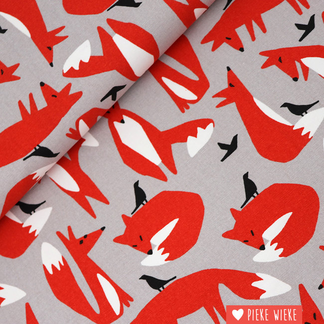 Cloud 9 Canvas Wildlife Foxes