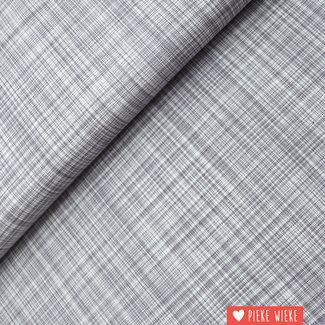 Cotton Brushstrokes grey