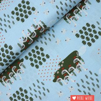Windham Fabrics Katoen Gardening geese