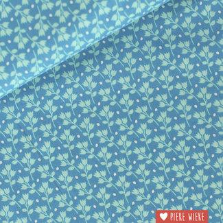 Soft Cactus Cotton Kitchen Garden Blue