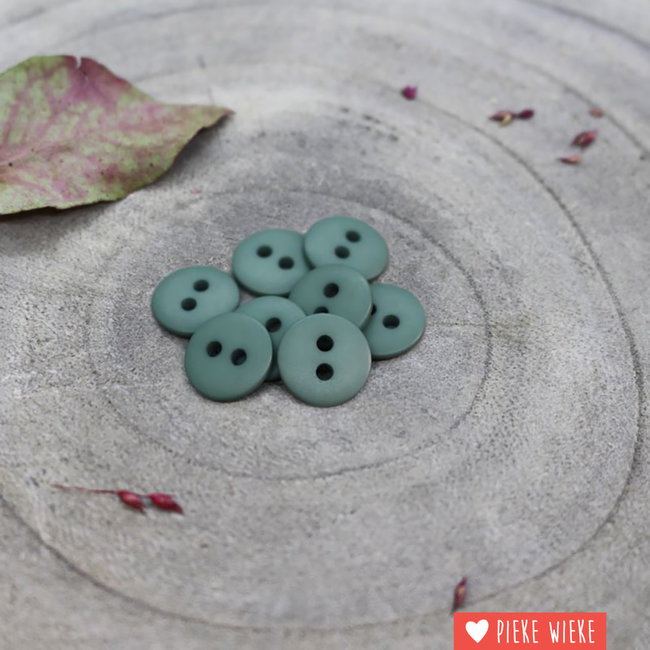 Atelier Brunette Button Clasic mat 12mm Cactus