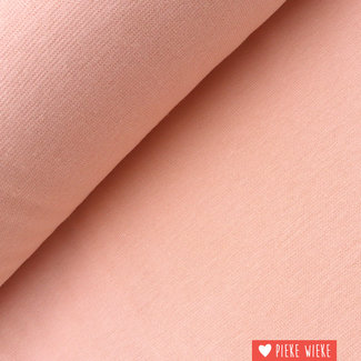 Boordstof GOTS Zacht roze