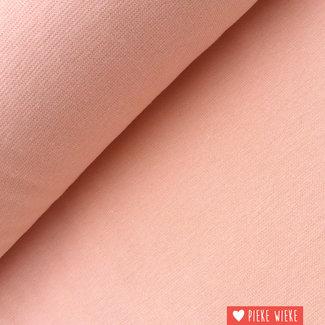 Ribbing GOTS Soft pink