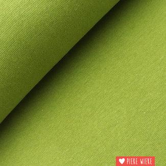 Ribbing GOTS Moss green